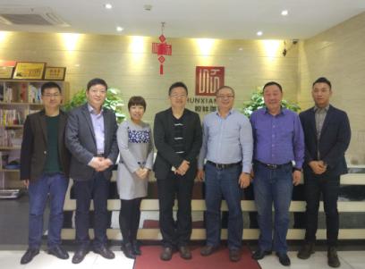 持續合作共話發展—勵展大中華區副總裁吳運強考察廣東順祥陶瓷
